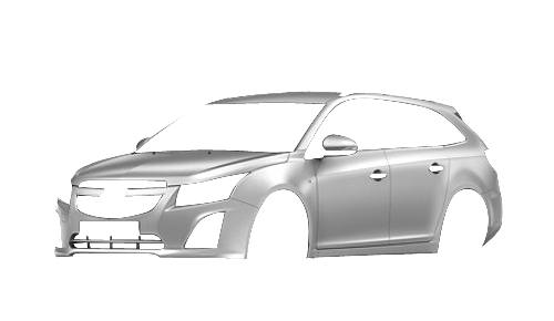 Цвета кузова Cruze Station Wagon